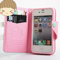 jullygo — [grlhx110059]Cute Mint & Pink Iphone 4/4s/5 case