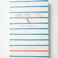 Paris Street Style by Anthropologie Blue One Size Gifts