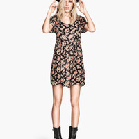 Crinkled Dress - from H&M