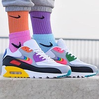 NIKE Air Max 90 Sneaker Sport Shoes Contrast Shoes