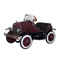 Dexton Deluxe Pink Roadster Pedal Car Ride-On