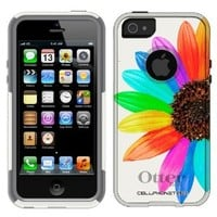 Otterbox Commuter Colorful Sun Flower Case for iPhone 5