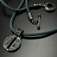 SALE -15% OFF Letter O initial pendant
