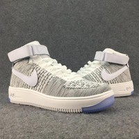 Women's and men's nike air force FLYKNIT cheap nike shoes a113