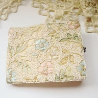 Jolles Beaded Embroidered Vintage Wallet