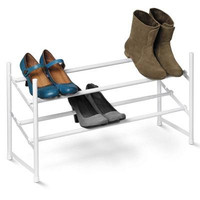 Two Tier Expandable Shoe Rack