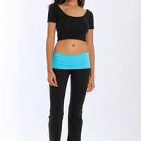 Miami Style® - Yoga Pant with Folding Waistband