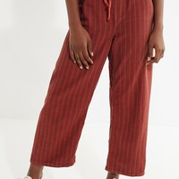 Vintage Striped Drawstring Pant | Urban Outfitters