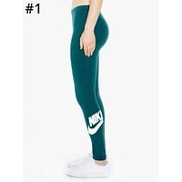 NIKE Tide brand women's sports and fitness casual leggings