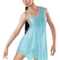 Sequin Mesh Lyrical Dress; Weissman Costumes