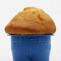 Muffin Top Mold - Set Of 4- Blue One