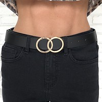 Hooked On You Double Ring Belt