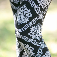 Bordeaux Leggings - Plus Size
