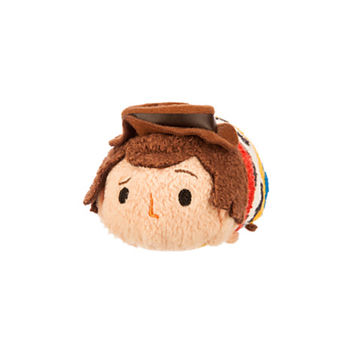 Woody ''Tsum Tsum'' Plush - Toy Story - Mini - 3 1/2''