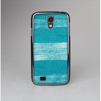 The Worn Blue Texture Skin-Sert Case for the Samsung Galaxy S4