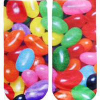 Jelly Bean Ankle Socks