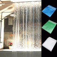 Bellyde Transparent Shower Curtains