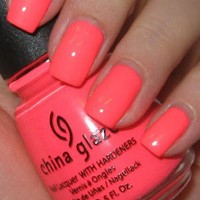 China Glaze Nail Laquer with Hardeners Flip Flop Fantasy