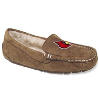 Campus Cruzerz Chestnut Louisville Cardinals Women's Moccasins (Brown)