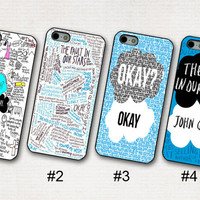 The Fault in Our Stars John Green Phone 5 / 5s / 5c case, Unique iPhone 4s case, iPhone 4 cover, iPod Touch 5 cover