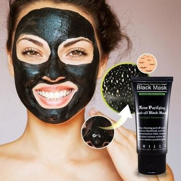 Deep Cleansing Purifying Peel Off Mud Blackhead Face Mask + Free Gift Necklace