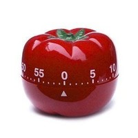 """(Price/Piece)Aspire™60-Minute """"Red Tomato"""" Kitchen Timer, Mechanical Timer"""