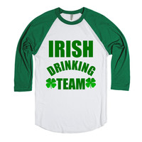 IRISH DRINKING TEAM ST PATRICK'S DAY SHIRT