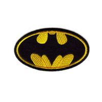 Batman Embroidered Iron-On Patch