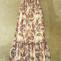 Dancing Paisley Maxi Dress [2659] - $23.94 : Vintage Inspired Clothing & Affordable Fall Frocks, deloom | Modern. Vintage. Crafted.