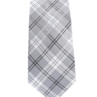 Perry Plaid - Silver
