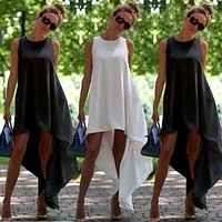 Women Summer Boho Long Maxi Dress Evening Party Beach Dresses Sundress Costume