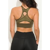 Let's Move Sport Bra Olive