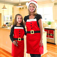 Christmas Home Decor Women's Aprons [9199616708]