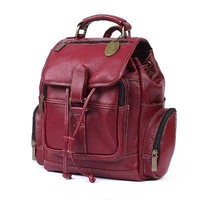 Claire Chase Uptown Small Backpack 334E Color: Café