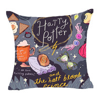 Harry Potter Style Dobby Cushion Cover Goblet of Fire The Deathly Hallows Pillow Cover Decorative Cushion Cover