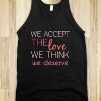 Perks of Being a Wallflower Quote Tank - C's Boutique