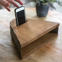 Honey Wood Smart Phone Speaker