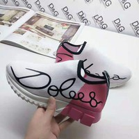 DCCK DG Fashion Men Casual Running Sport Shoes Sneakers Slipper Sandals High Heels Shoes