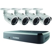 Lorex by FLIR LNR18243B 8-Channel 1080p 2TB NVR with 4 PoE IP Security Cameras
