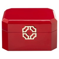 Threshold™ Laquer Jewelry Box - Red