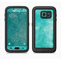 The Scratched Turquoise Surface Full Body Samsung Galaxy S6 LifeProof Fre Case Skin Kit