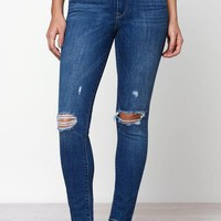 DCCKJH6 Levi's 721 High Rise Skinny Ankle Jeans