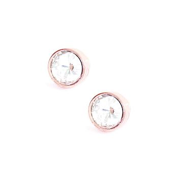 Lizzy Crystal Statement Stud Earrings | More Colors Available