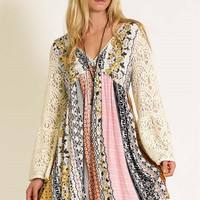 Kori Boho Country Lace Dress