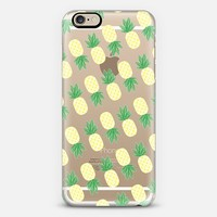 Mini Pineapple Party iPhone 6 case by Nicole White | Casetify