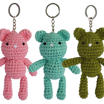 Tiny Teddy Crochet Pattern Watch The Video Tutorial | Crochet ... | 354x354