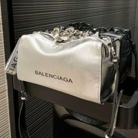 BALENCIAGA High Quality Popular Women Leather Shoulder Bag Crossbody Satchel
