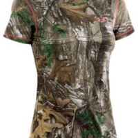 Under Armour Scent Control EVO HG Hunting Shirt for Ladies - Short Sleeve |  Bass Pro Shops