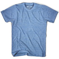 Mile End Athletic Blue Blank T-shirt