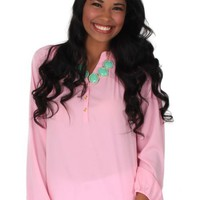 Accidentally In Love Light Pink Blouse | Monday Dress Boutique